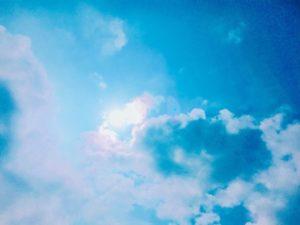 セブ島の空
