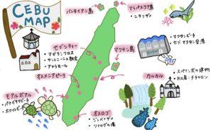セブ島マップ