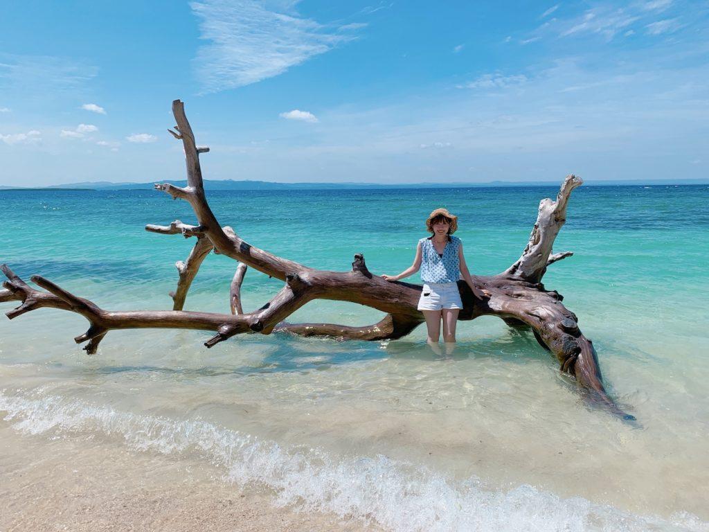 アイランドホッピング パンダノン島/ナルスアン島/ヒルトゥガン島の海洋保護区でシュノーケル<ガイド付/GoProレンタル>