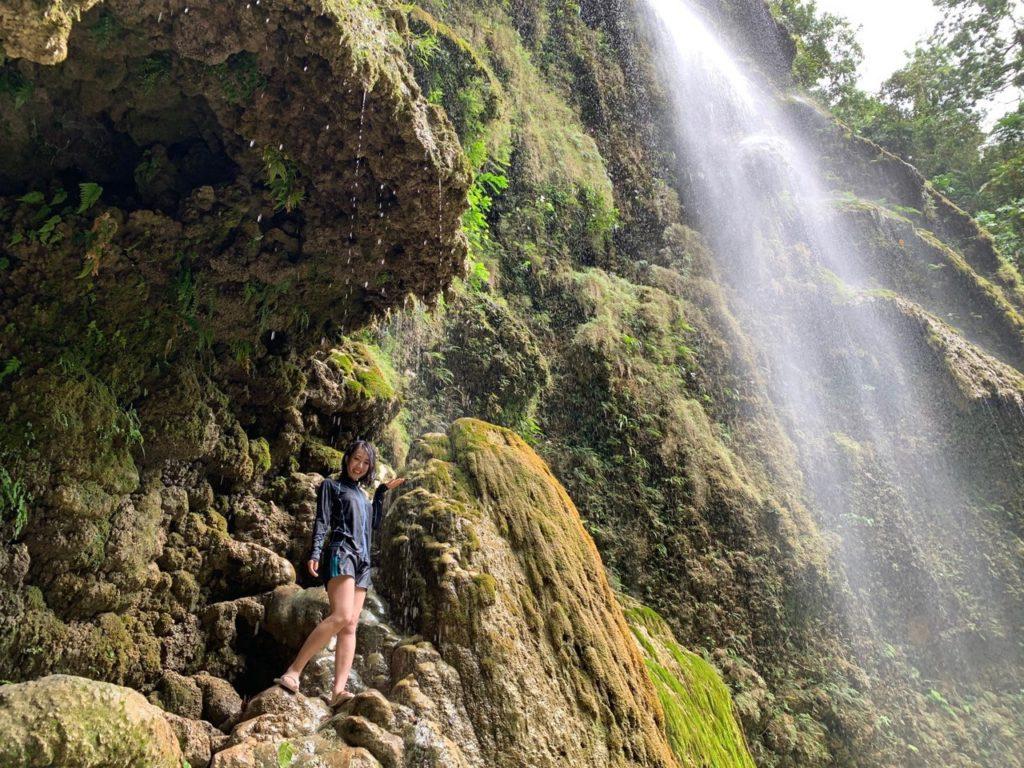 【セブ島】ジンベイザメと超接近シュノーケリング+ツマログの滝<ガイド付/GoPro貸出OK>