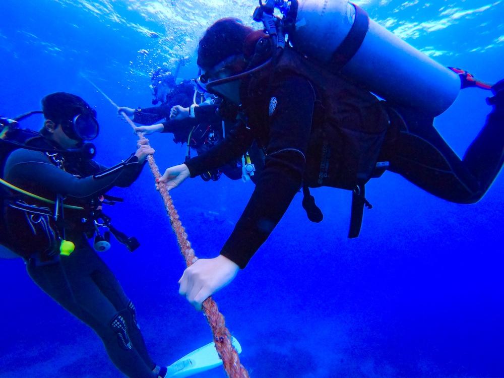 セブ島で体験ダイビング!青い海へ行く離島のボート体験ダイビング<GoProレンタル/日本語インストラクター>