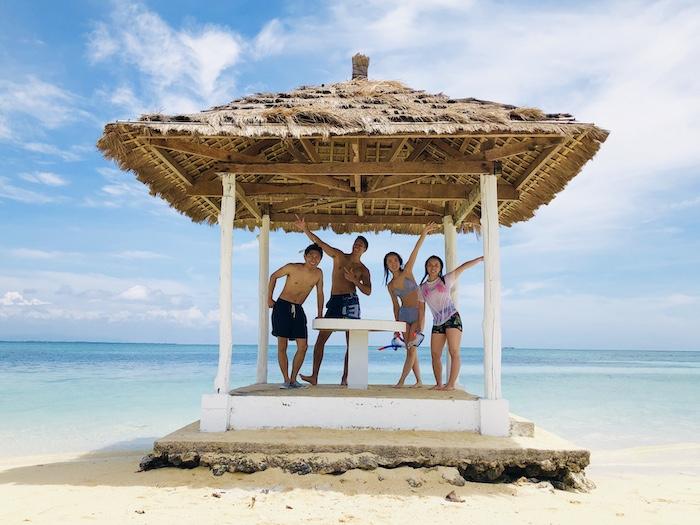 アイランドホッピング【人気の3島巡り】パンダノン島&ナルスアン島&ヒルトゥガン島/海洋保護区でシュノーケル<日本語ガイド/GoProレンタル>