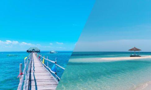 パンダノン島とナルスアン島