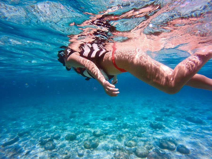 アイランドホッピング【3島シュノーケル巡り】オランゴ島&ナルスアン島&ヒルトゥガン島/海洋保護区でシュノーケル<日本語ガイド/GoProレンタルあり>