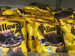 Pillows(ピローズ)のチョコ菓子