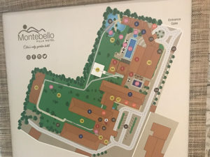 モンテベロ・ビラ・ホテルのマップ