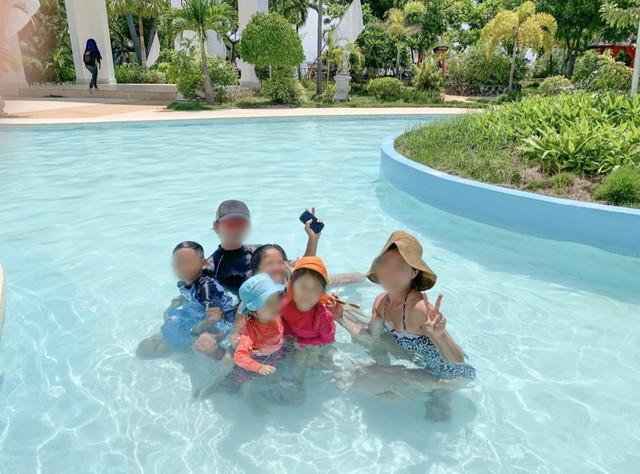 カサブランカのプール